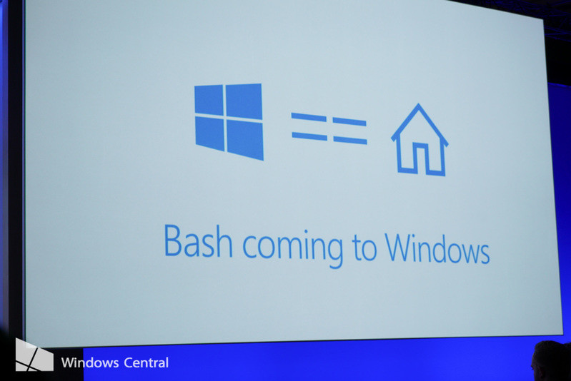 Bash on Windows