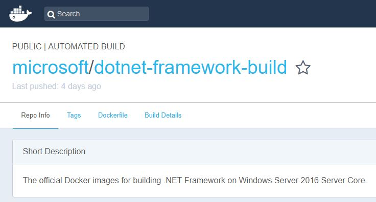 Dockerizing  NET Apps with Microsoft's Build Images on