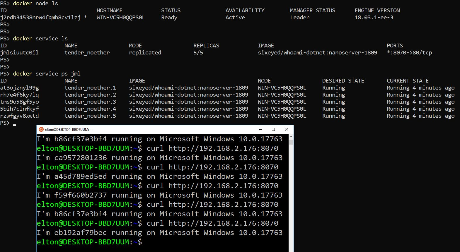 Getting Started with Docker on Windows Server 2019
